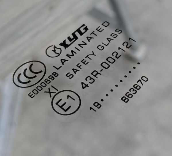 Australian Standards Safety Glass For Windscreens
